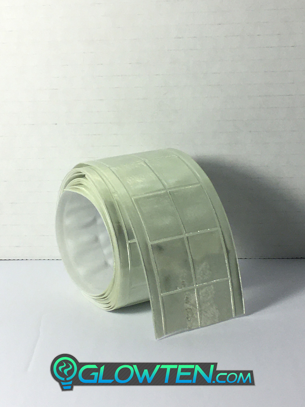 GLOWTEN.com - Reflector Glow Tape LUMINOUS Band Glow in the Dark See Better At Night Safety Hazard Cycling Reflective High-Visibility Band Biking at Night Bicycle picture photo cap preview pic image search 1