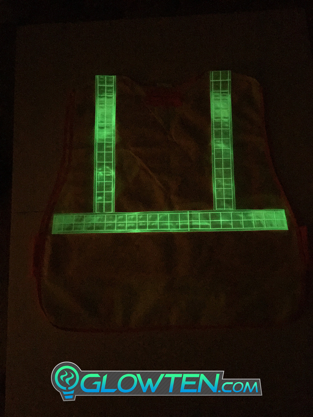 GLOWTEN.com - How Do You Use Glow In The Dark Tape LUMINOUS Band Glow in the Dark See Better At Night Safety Hazard Cycling Reflective High-Visibility Band Biking at Night Bicycle picture photo cap preview pic image search 4