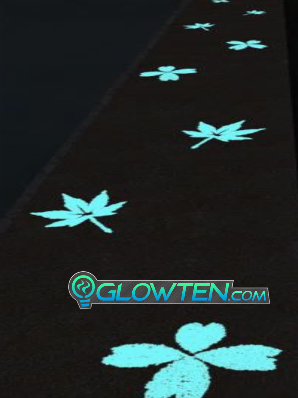GLOWTEN.com - Flourescent Green Phosphorescent Shining Green Glow Lite Decorate Your Garden Path, Walkway, Backyard, Bird Fountain, Or Flower Beds Luminous Stones Pebbles Medium Natural Glowing In The Dark Ground Glow Rocks Arts N Crafts Decoration Eco Friendly Material picture photo cap preview pic image search 3
