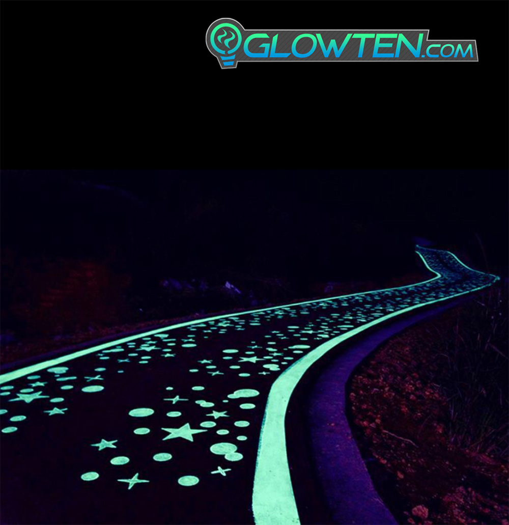 GLOWTEN.com - Ambient Lighting Futuristic High Tech Cool Look, Luminous Decor Plastic Resin Glow Pebbles Luminous Stones Pebbles Medium Natural Glowing In The Dark Ground Glow Rocks Arts N Crafts Decoration Eco Friendly Material picture photo cap preview pic image search 4