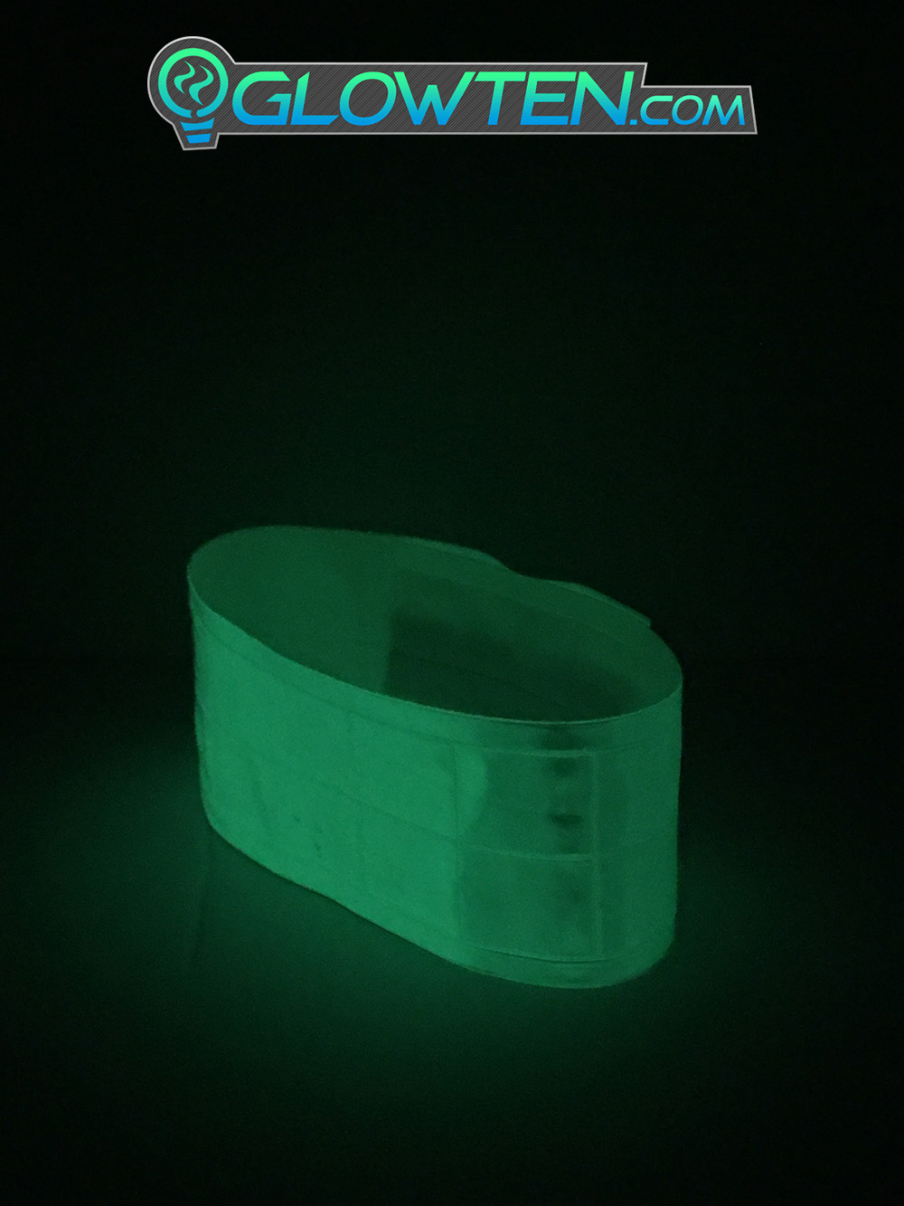 GLOWTEN.com - How long does glow in the dark tape glow Reflective Luminous Band See Better At Night Safety High-Visibility Reflector Band Tape Armband For Reflective Clothing picture photo cap preview pic image search 2