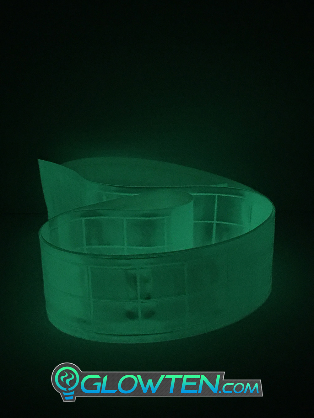 GLOWTEN.com - Shopping Buy Now Get Yours Fast Now Luminous See Better At Night Glow In The Dark Safety Reflective High-visibility Band Tape Waistband picture photo cap preview pic image search 2